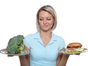 причины целлюлита - питание