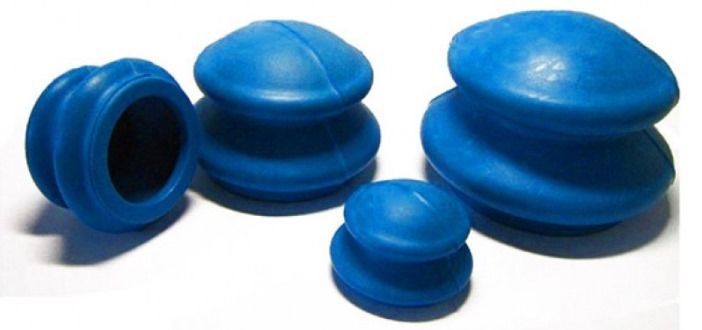 Банки от целлюлита из антиаллергенной резины