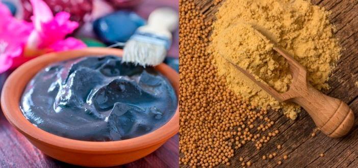 Антицеллюлитное обертывание с горчицей и глиной