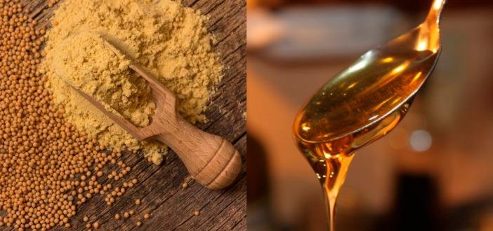 Антицеллюлитное обертывание с горчицей и медом