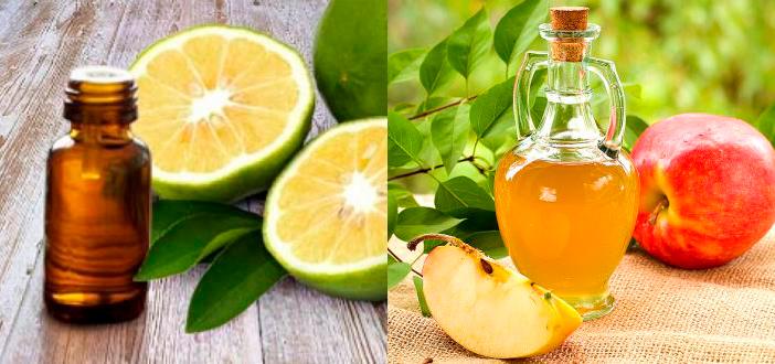 Антицеллюлитное обертывание с яблочным уксусом и маслом бергамота
