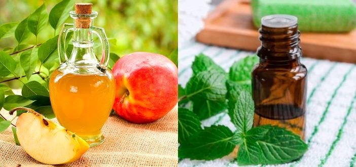 Антицеллюлитное обертывание с яблочным уксусом и маслами