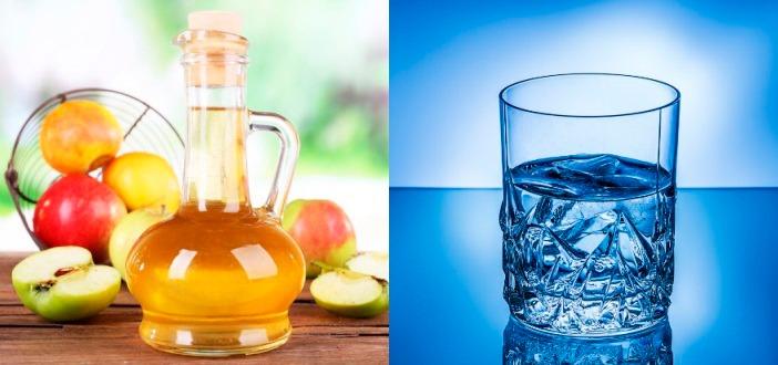 Антицеллюлитное обертывание с яблочным уксусом и водой