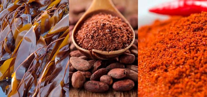 Антицеллюлитное обертывание ламинария + какао + красный перец