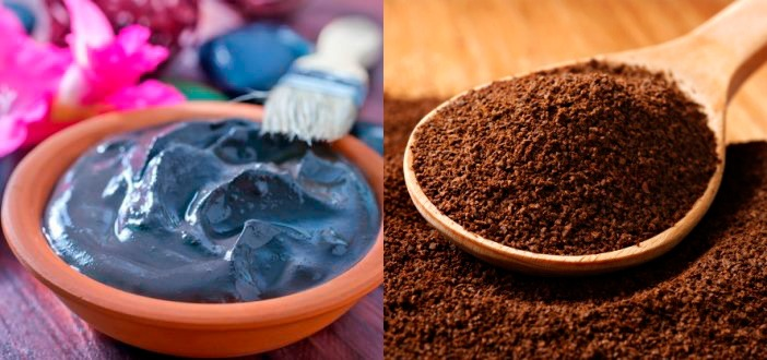 Антицеллюлитное обертывание с голубой глиной и кофе